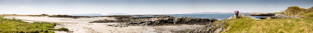 Taken from the beach between Morar and Arisaig, looking towards Eigg and Rum